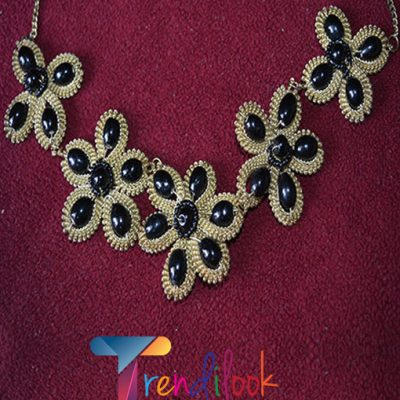 Black Golden Necklace