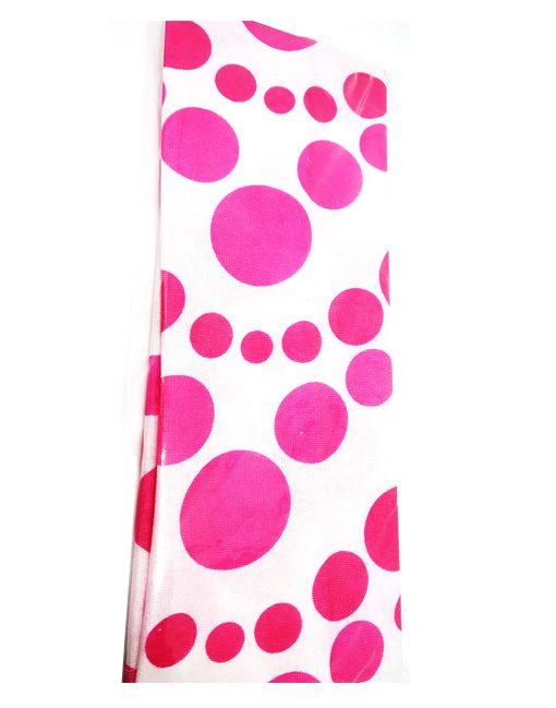 Trendilook Pink Plain Nylon Hairband for Women and Girls