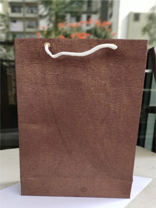 Trendilook Gift Bags Brown Texture Shining Paper Bag