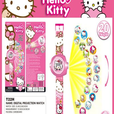 HelloKitty_Projector_Cartoon_Watch