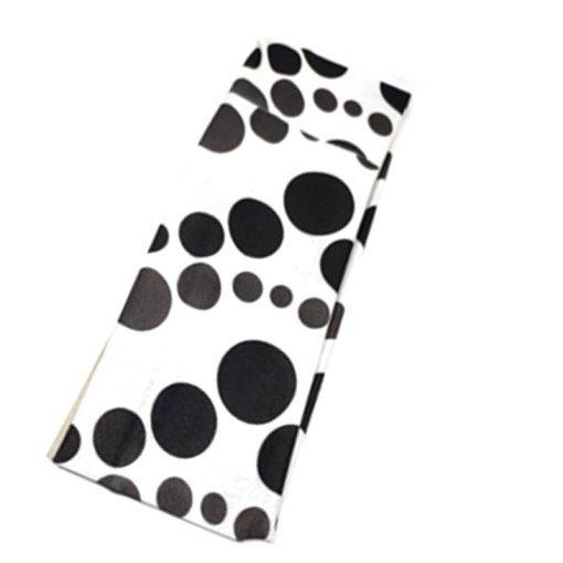 Trendilook Bkack Plain Nylon Hairband for Women and Girls