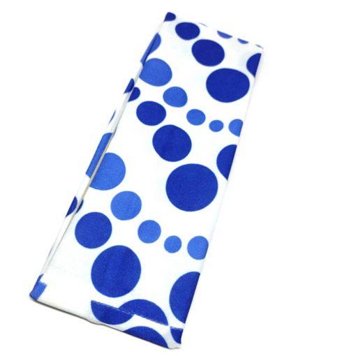 Trendilook Blue Plain Nylon Hairband for Women and Girls