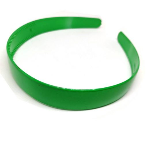 Trendilook Green Unbreakable Big Size Single Color Hairband