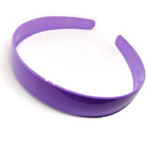 Trendilook Purple Unbreakable Big Size Single Color Hairband