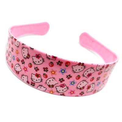 Trendilook Baby Pink Hello Kitty Hairbands for Kids