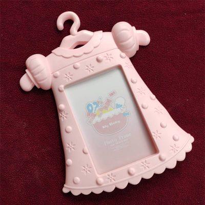 Trendilook Pink Baby Girl Dress Photo Frame for New Born