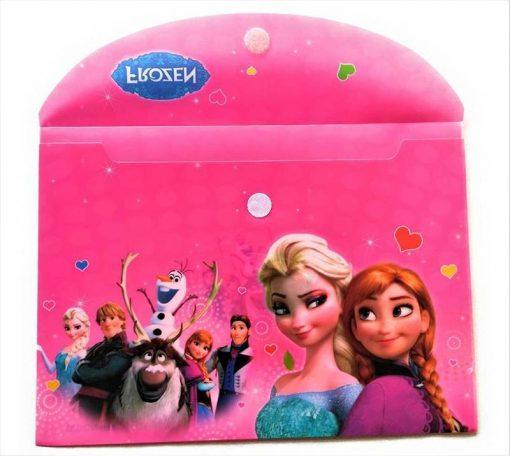 Trendilook Frozen Theme Document Folders Set of 12 for Girls Birthday Return Gifts