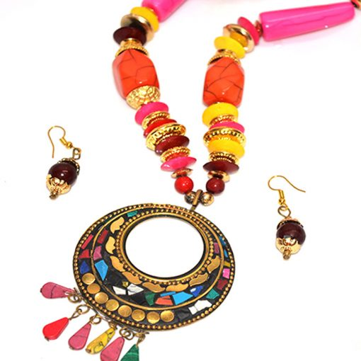 MultiColor-Necklace-Set-For-Women