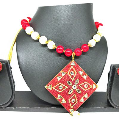 Trendilook Pearl Necklace Set for Wedding and Party
