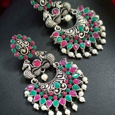 Trendilook Premium Quality Meenakari Bali Earring