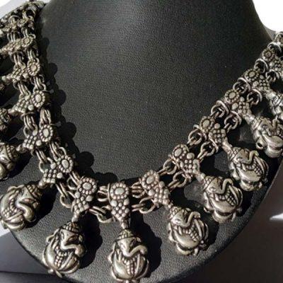 Trendilook Premium Quality Ganpati Beautiful Neckpiece