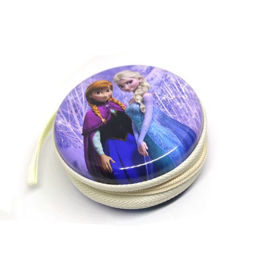 Frozen Theme1 Coin Tin Purse with zipper for kids