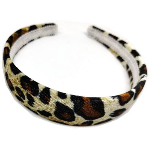 Trendilook Broad Leopard Print Hairbands 01