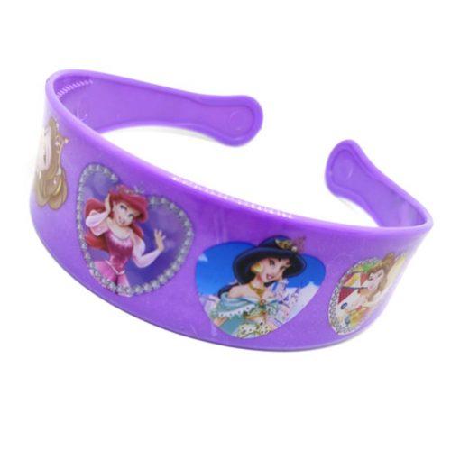Trendilook Purple Princess Heart Theme Hairband for Cute Princess