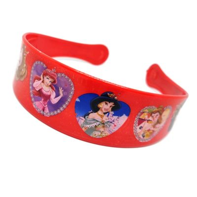 Trendilook Red Princess Heart Theme Hairband for Cute Princess