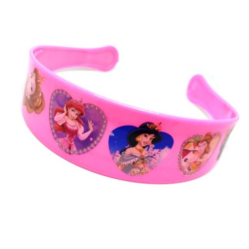 Trendilook Baby Pink Princess Heart Theme Hairband for Cute Princess