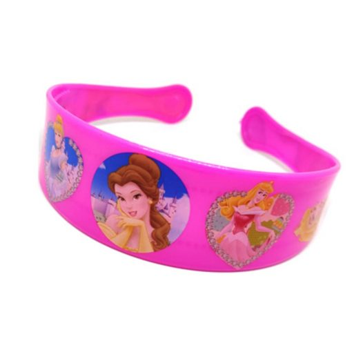Trendilook Pink Princess Heart Theme Hairband for Cute Princess