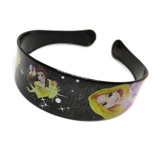 Trendilook Black Princess Full Cartoon Theme Hairband for Cute Princess