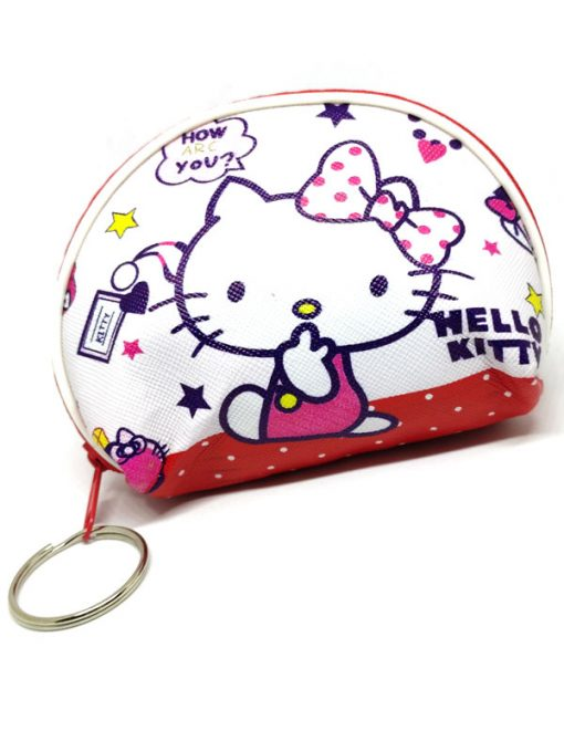 Trendilook Hello Kitty Coin Purse Mini PU Key Chain Small Purse / Pouch - Theme1