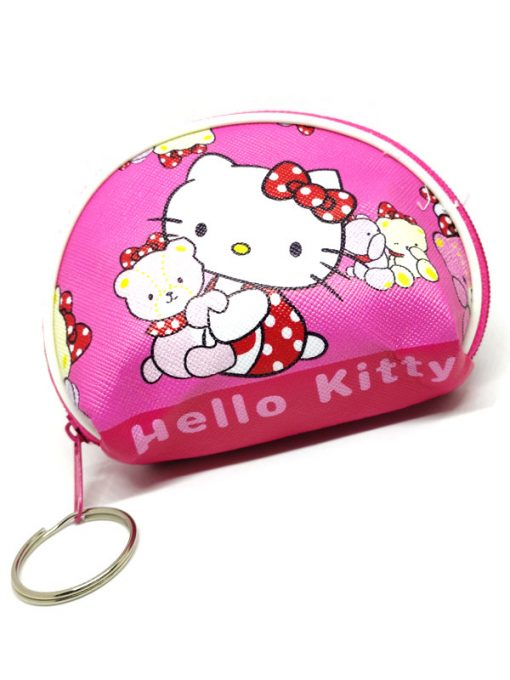 Trendilook Hello Kitty Coin Purse Mini PU Key Chain Small Purse / Pouch - Theme2