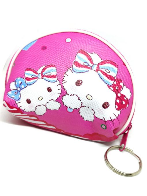 Trendilook Hello Kitty Coin Purse Mini PU Key Chain Small Purse / Pouch - Theme3