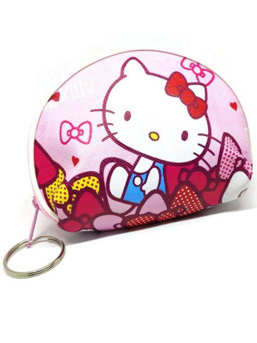 Trendilook Hello Kitty Coin Purse Mini PU Key Chain Small Purse / Pouch - Theme4