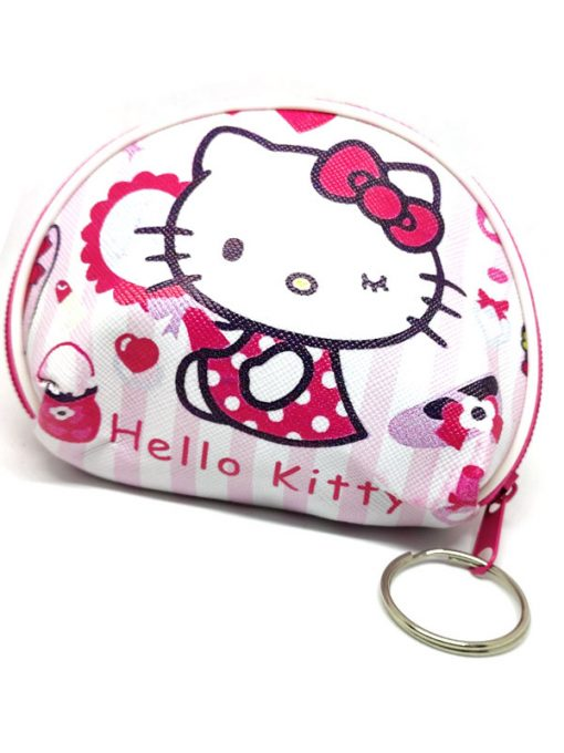 Trendilook Hello Kitty Coin Purse Mini PU Key Chain Small Purse / Pouch - Theme5