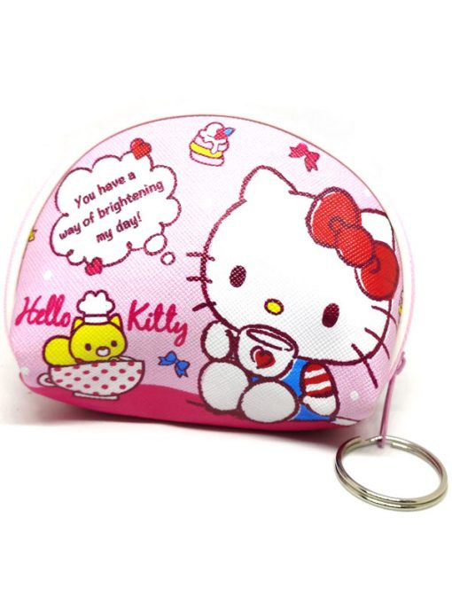 Trendilook Hello Kitty Coin Purse Mini PU Key Chain Small Purse / Pouch - Theme6