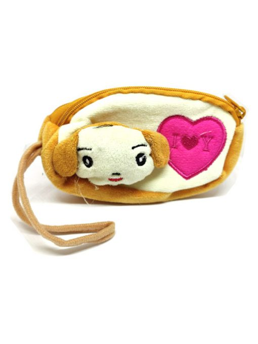 Trendilook Beautiful Soft Animal Face Pencil Purse / Pouch For Kids - Theme2