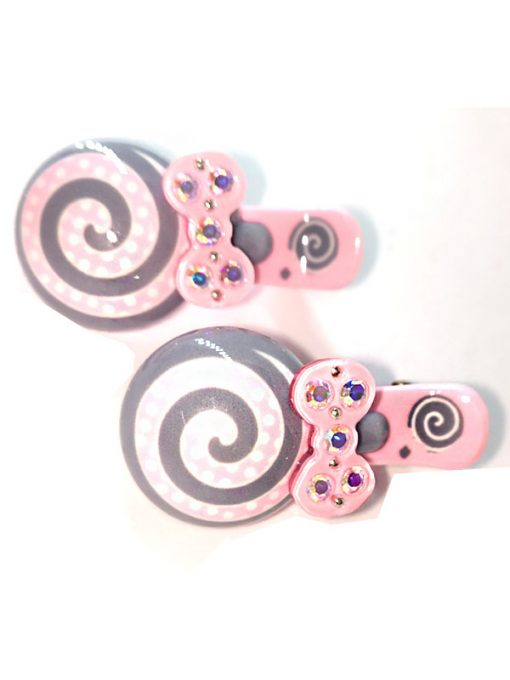 Trendilook Candy Stone Work Clips for Kids