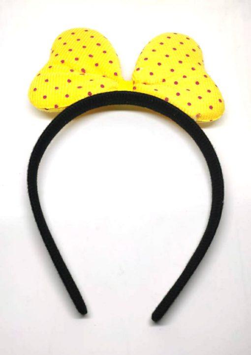 Trendilook Bunny Black Base Fur Hairband