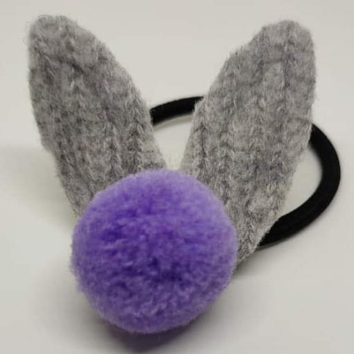Trendilook Knitted Bunny Rubber Band for Kids