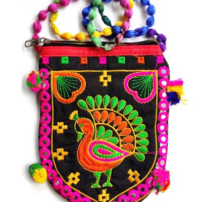 Trendilook Handmade Brown Sling Bag for Ladies and Girls