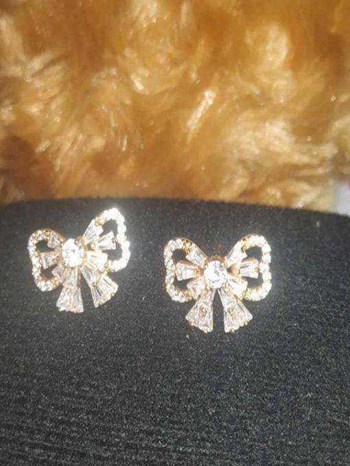 Trendilook Premium Quality Flower Stud Earring