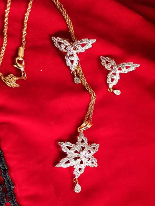 Trendilook AD Jewelry Set for Wedding and Party