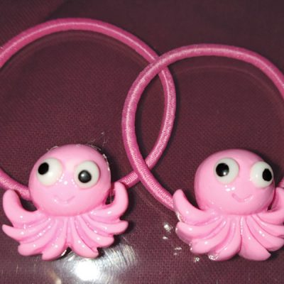 Trendilook Octopus Rubber band one Pair