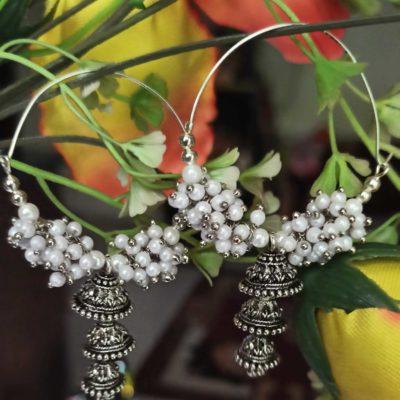 Trendilook Beautiful Pearl Balli