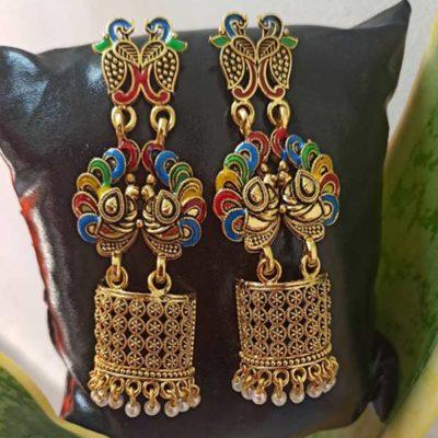 Trendilook Beautiful Long German Gold Earring
