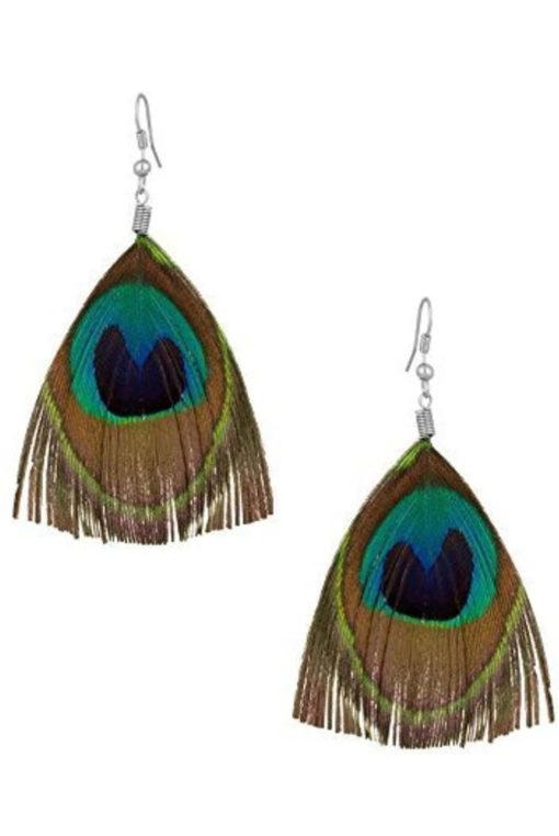 Trendilook Peacock Drop Earring