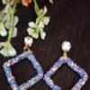 Trendilook Party Wear Glitter Drop Earring