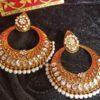 Trendilook Party Wear Kundan ChandBalli Earring