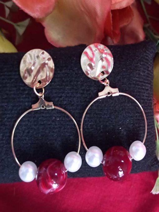 Trendilook Looped Fancy Earring