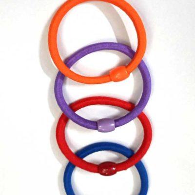 Trendilook Beaded Multicolored Rubberband
