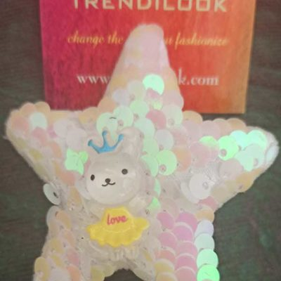 Trendilook Glitter Shimmer With Doll Star Clip